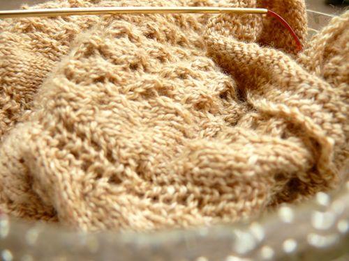 Lace shawlette