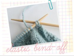 Elastic Bind-Off Tutorial