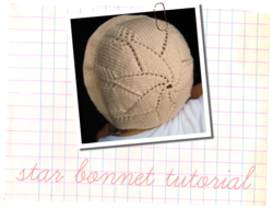 star bonnet tutorial