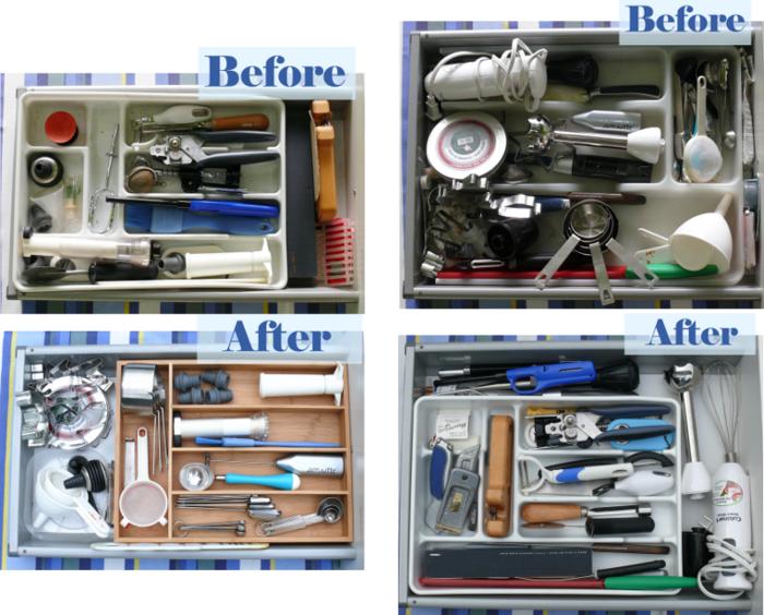 Debajo un botón-Organized Drawers