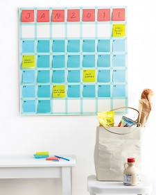 Post-it Note Calendar