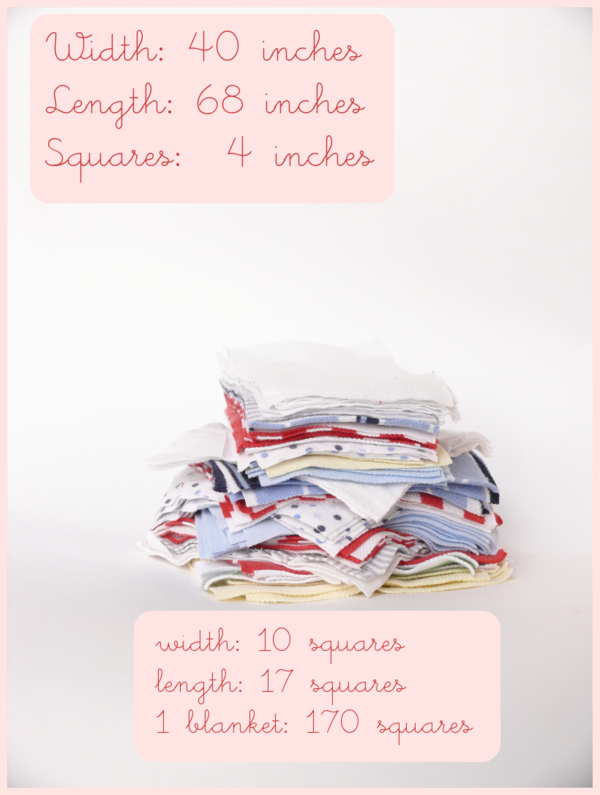 Baby knits quilt squares